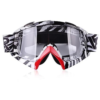 48dd9a07344 Amazon.com  Motorcycle Goggles - ATV Riding Goggles Glasses