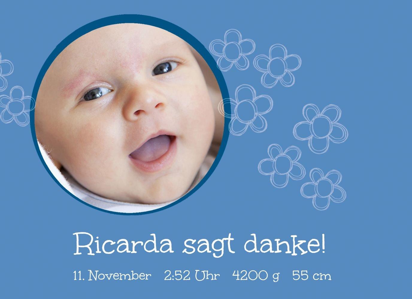 Kartenparadies Danksagung für Geburt Baby Dankeskarte Blüten, hochwertige Danksagungskarte Danksagungskarte Danksagungskarte Baby inklusive Umschläge   100 Karten - (Format  148x105 mm) Farbe  Hellbraun B01MYE54DF | Qualitätsprodukte  | Ausgezeichnetes Preis  | Attraktive 40a4f7