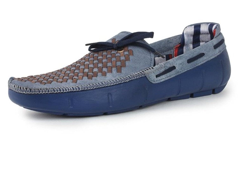 Hot Man Mens' Designer Blue Casual Loafers