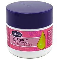 La Bella Vitamin E Cream with Aloe Vera 4 oz ( Pack of 6)