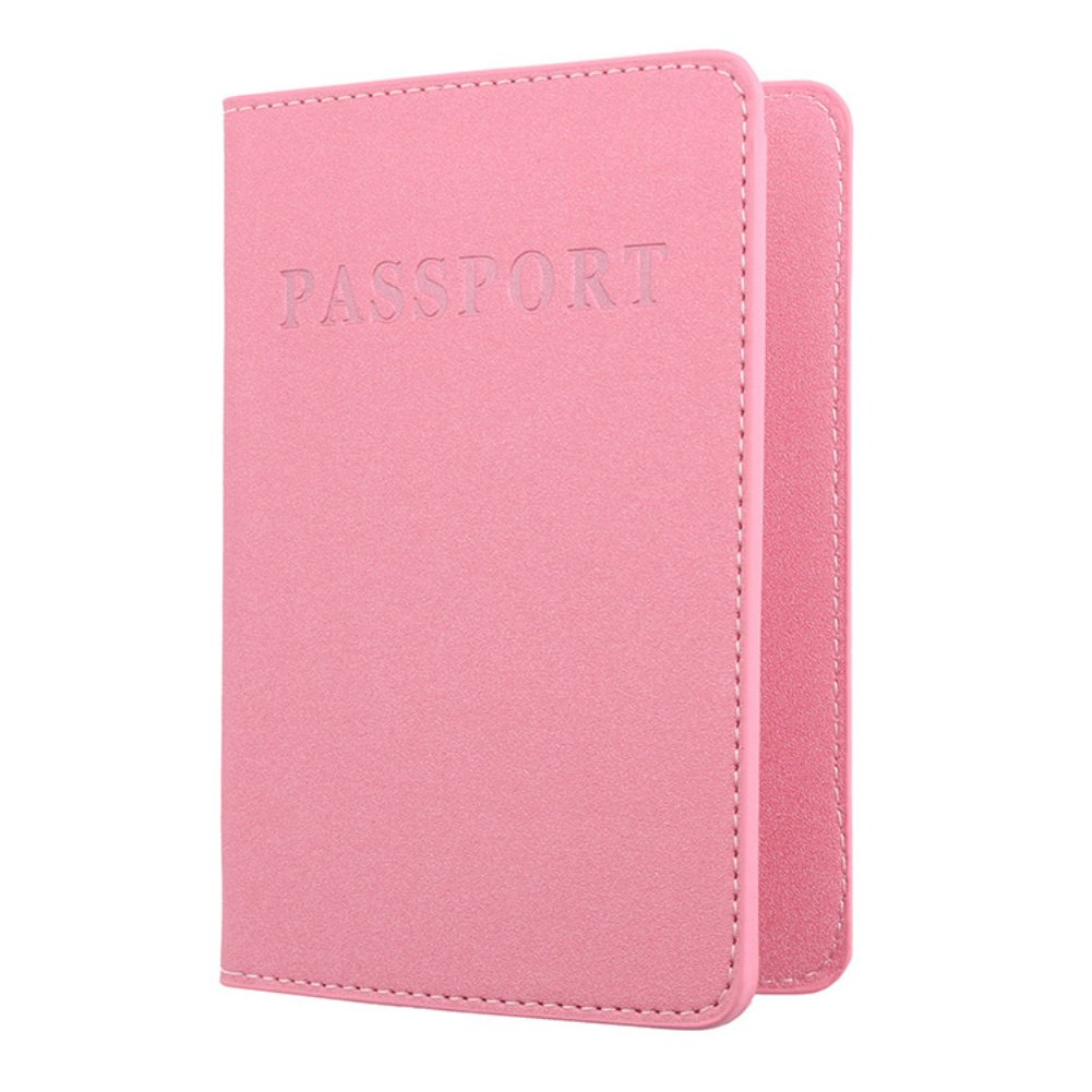 BrawljRORty, Travel Kits & OrganizersSolid ColorName Faux Leather Travel Passport Holder Cover ID Card Ticket Pouch Bag