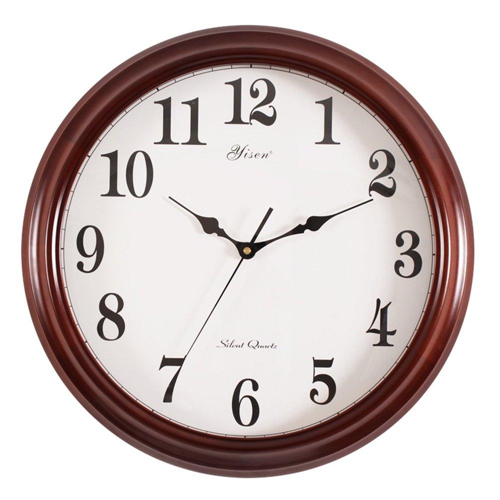 ビジネスウォールクロックラウンド18インチミュート大時計リビングルーム会議室クォーツ時計 (サイズ : 45*37cm) B07DVG4JGY 45*37cm 45*37cm
