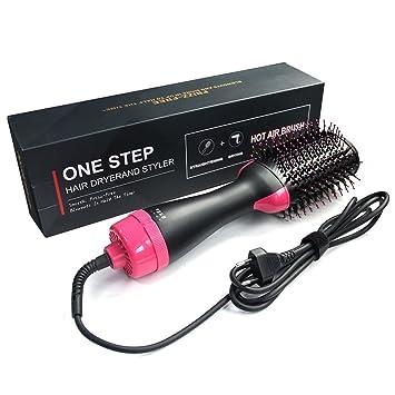 DANTB Cepillo de Aire Caliente One Step Cepillo secador de Pelo 3 en 1  Styler y 2fe2a7ffe7c9