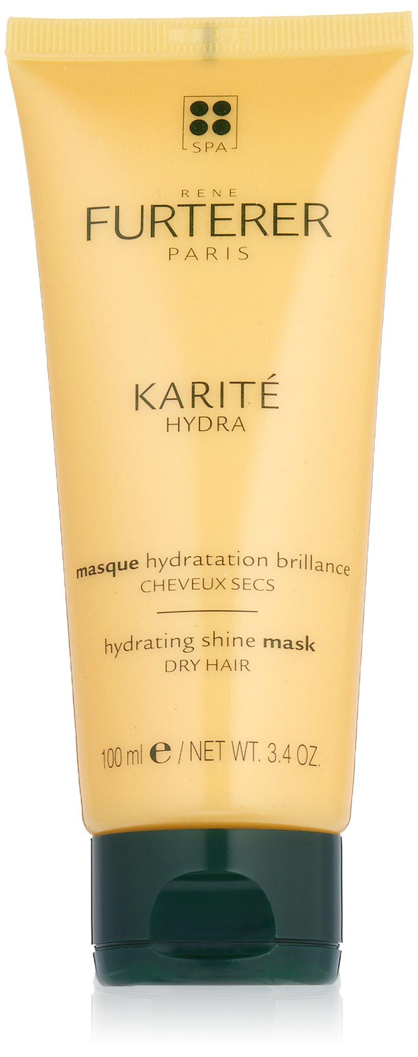 Rene Furterer KARITE HYDRA Hydrating Shine Mask, Normal to Dry Hair, Moisturizing, Shea Oil,  3 oz.