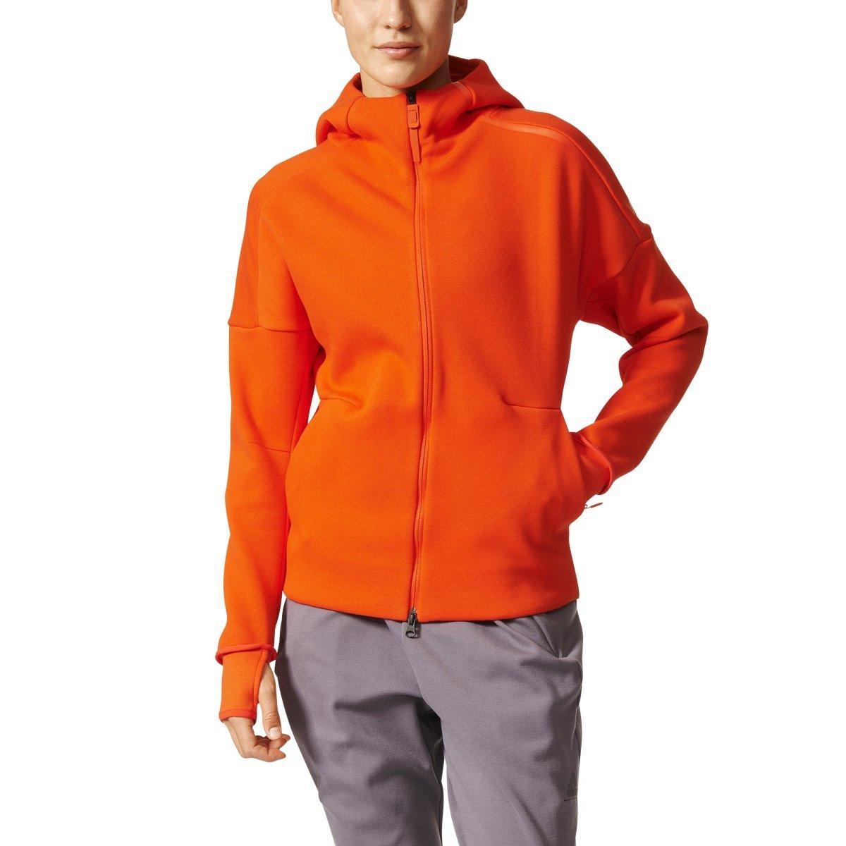 Adidasレディースathletic-wear ZNE Hoodie inオレンジ – b46938 X-Small  B01N6YZQ0M, だっちょん先生 0db10f1c