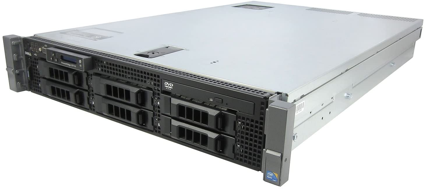 Dell PowerEdge R710 2 x 2.26Ghz E5520 Quad Core 12GB 1x 160GB 2PSU
