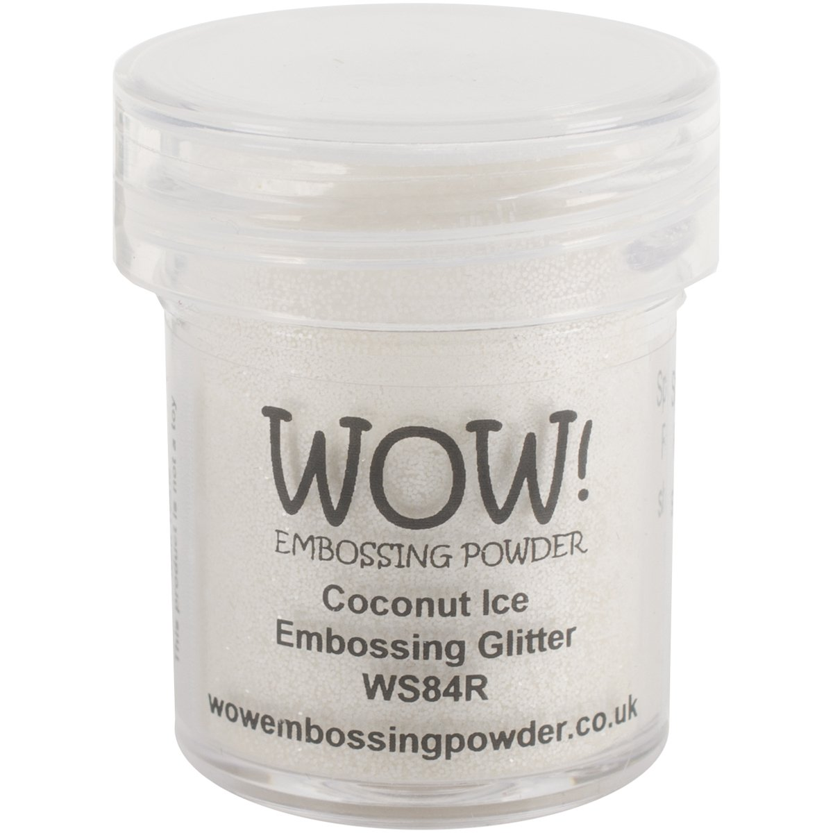 Wow Embossing Powder 15ml-Coconut Ice WOW-WS84R