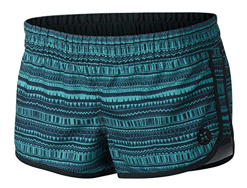 Hurley Supersuede Printed Beachrider Women's Boardshorts - Washed Teal G - XL