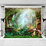 Kate 10x6.5ft Fairy Tale Backdrop Forest Photo Background for Children Birthday Party Photography Backdrops