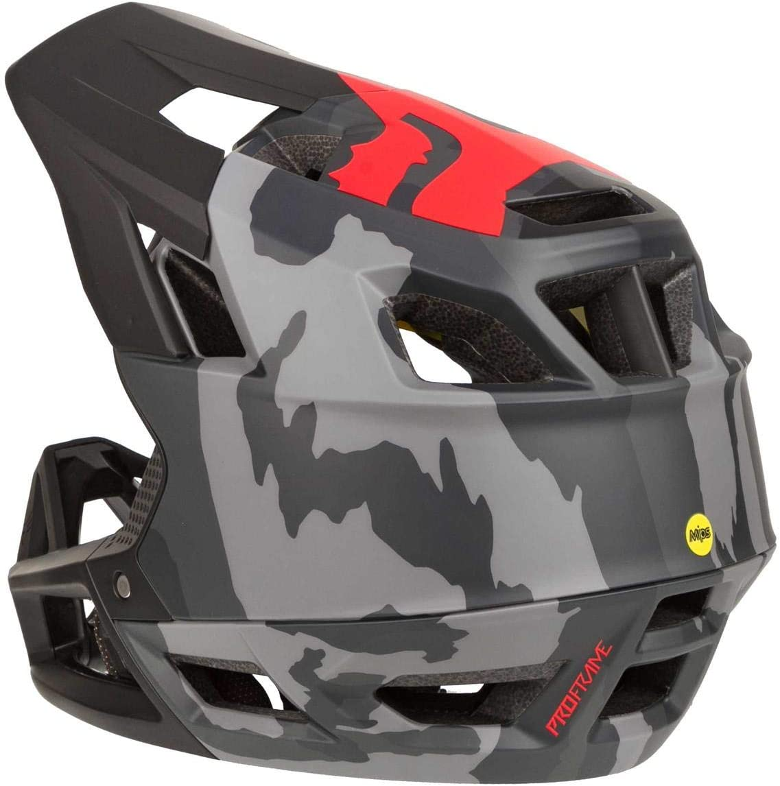 FOX Enduro MTB-Helm Proframe Schwarz Camouflage