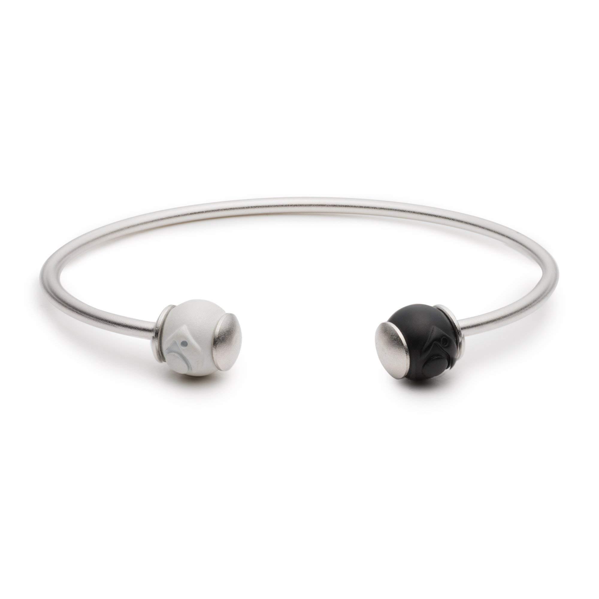Lokai Wire Cuff Bracelet - Silver