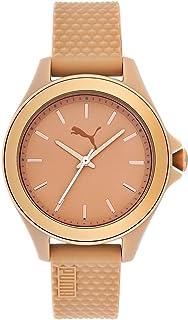 4d9eca2efdd6 Reloj PUMA Time - Mujer PU104252002  PU10425 Suede - Gold black ...