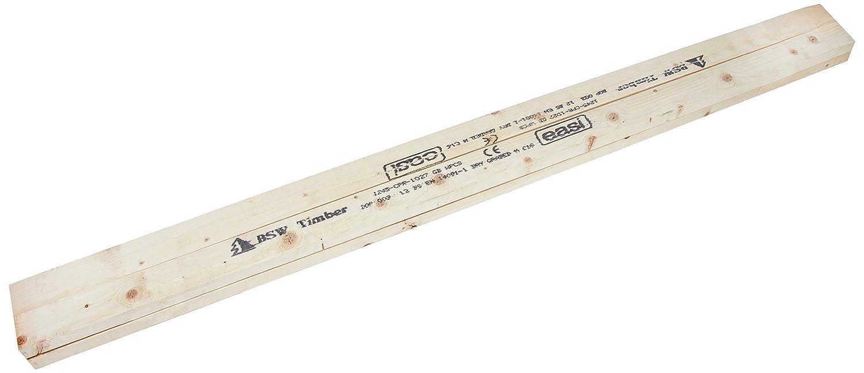 CLS Studwork Timber - Various Sizes - Various Lengths (6, 38mm x 63mm x 1200mm) Ashby Harrington