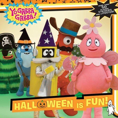 (Halloween Is Fun! [With 50 Glowing Stickers and Poster] (Yo Gabba Gabba (8x8)))