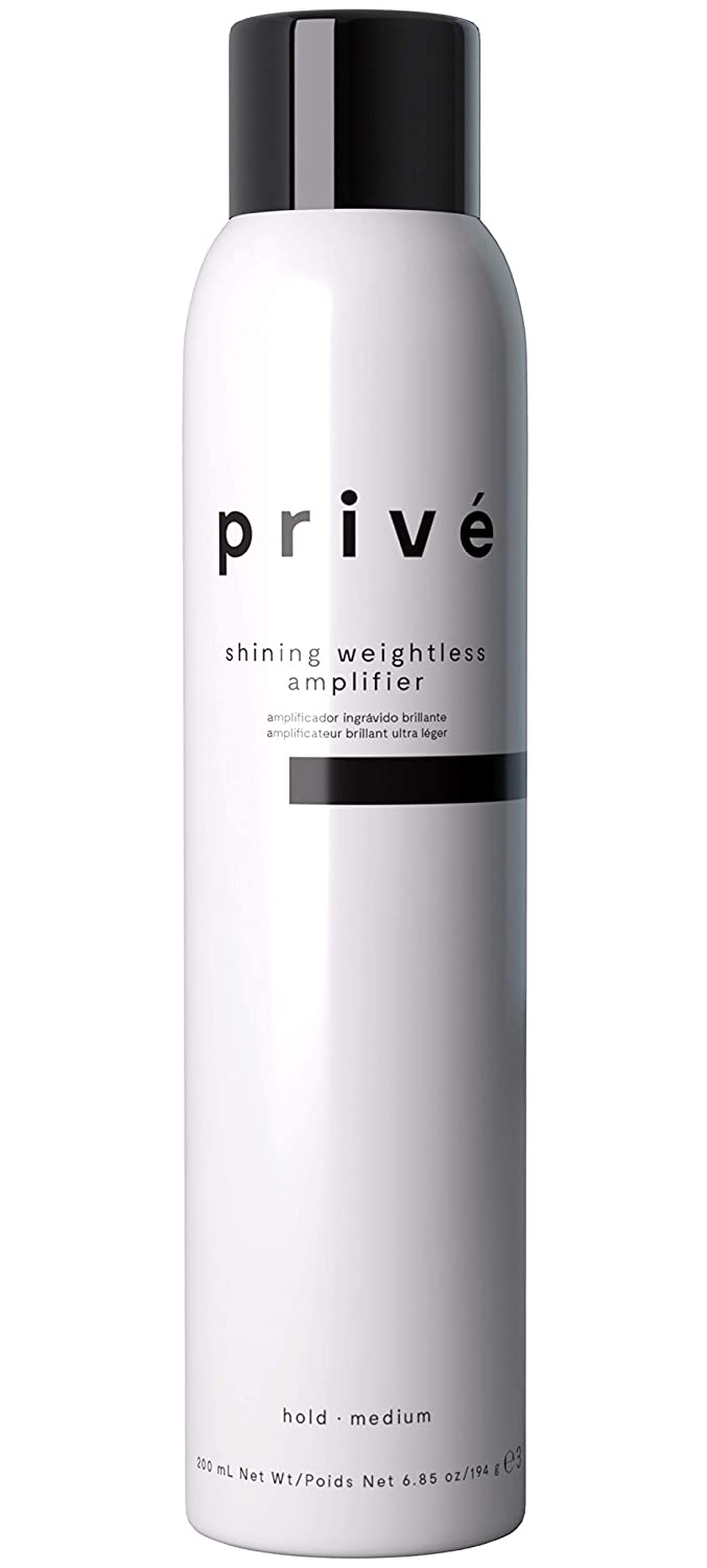 Privé Shining Weightless Amplifier – Volumizing Mousse/Styling Mousse – Massive Body, Altitude and Attitude for Voluminous and Brilliant Hair – Hair Volumizer (6.85 oz / 200 ml)