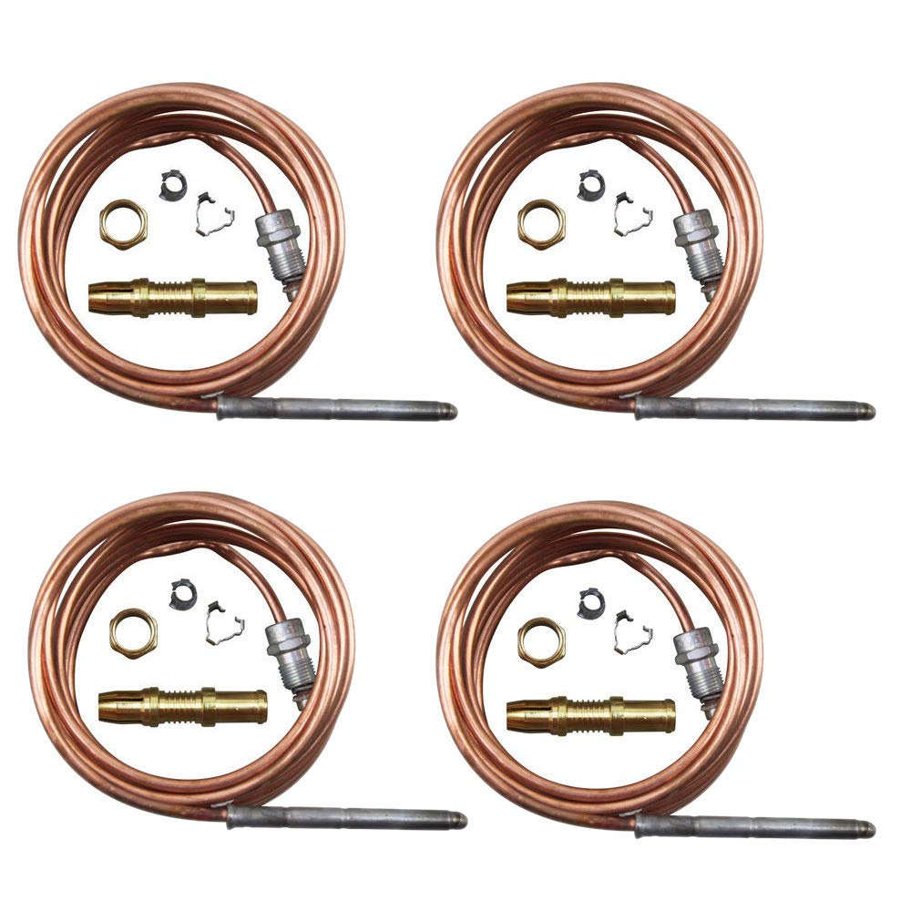 "4 Pack 72"" Thermocouple Replaces Garland 1920401 Bakers Pride M1296X M1296A DCS 13007-2"