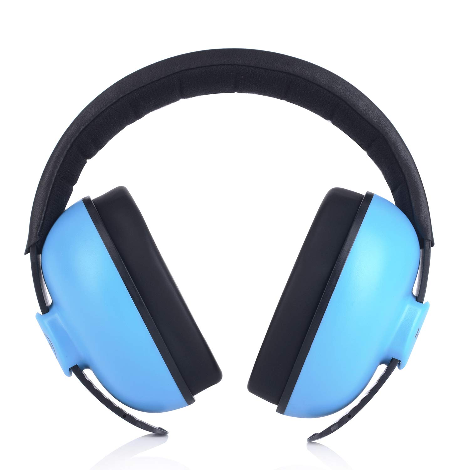 Baby Headphones Safety Ear Muffs Noise Reduction for Newborn Infant Autism Kids Toddlers Sound Cancelling Headphones for Sleeping Studying Airplane Concerts Movie Theater Fireworks, Blue by ILOVEUS (Image #9)