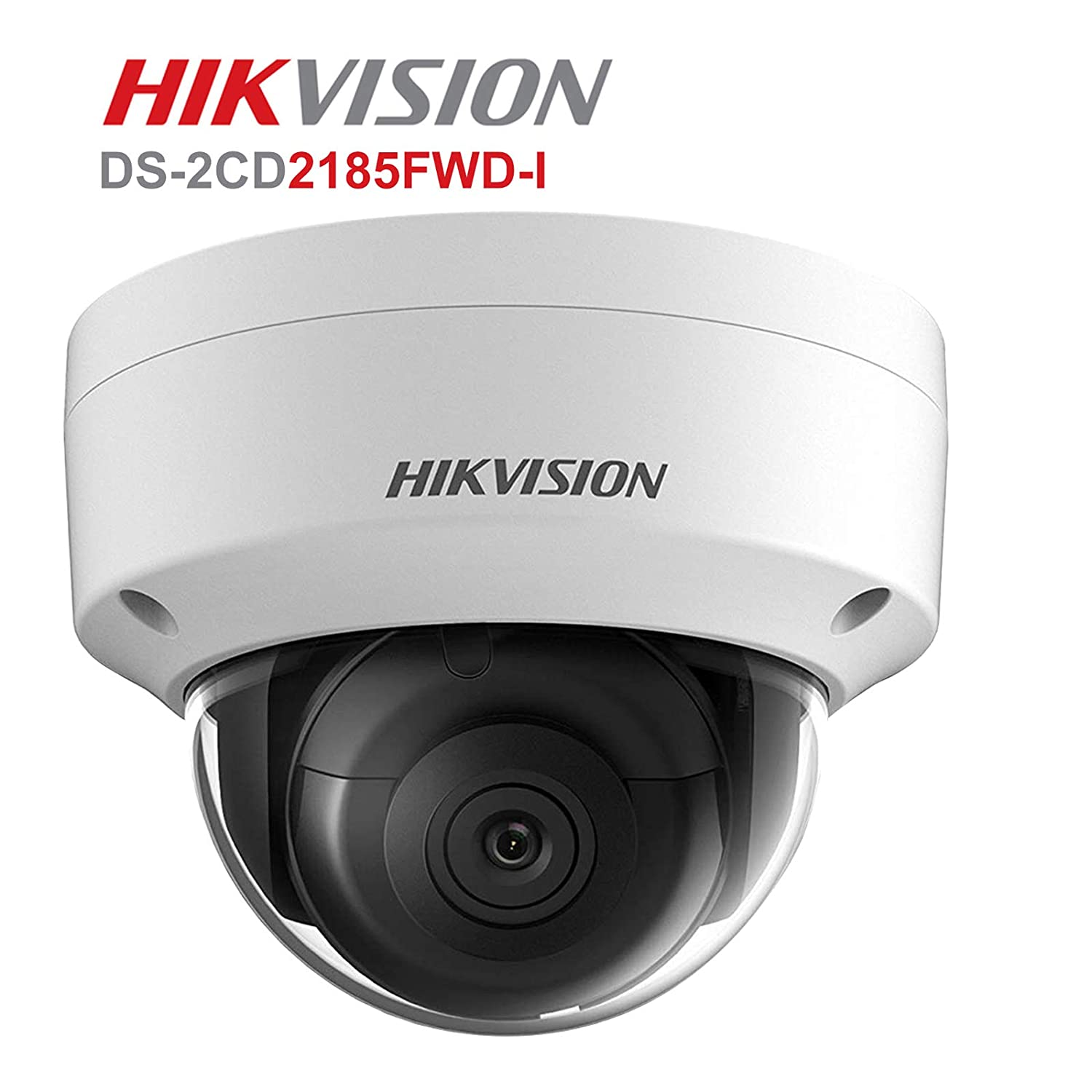 Hikvision Dome IP Camera 8MP Outdoor DS-2CD2185FWD-IS Audio USA Firmware 2.8mm
