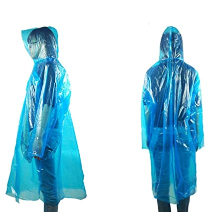 42679c89b Woman Raincoat - One Time Emergency Waterproof Cloth Raincoat Travel  Camping Must Rain Coat Adult Unisex