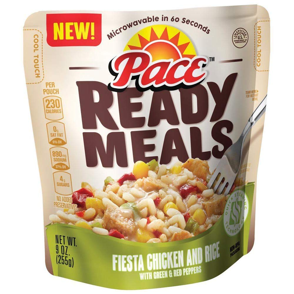 Pace Ready Meals Fiesta Chicken and rice 9 oz