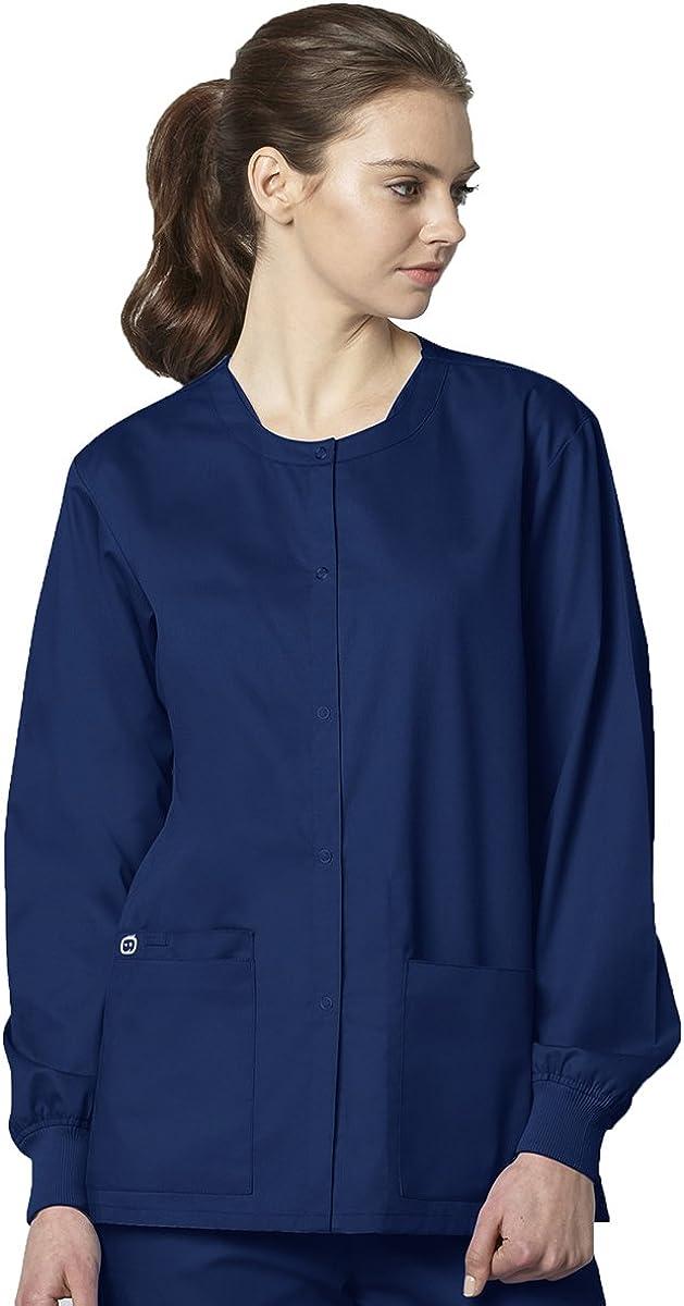 WonderWink Women's Snap Front Jacket