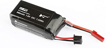 FCONEGY 3S 11.1V 1500mAh Lipo Battery Pack with XT60 Plug for FPV//Drone//RC Airlane//helicopter//Aircraft