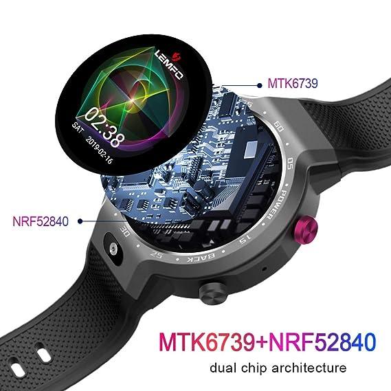 Lemfo LEM9 Smart Watch - Android 7.1 1.39 inch Screen 600Mah ...
