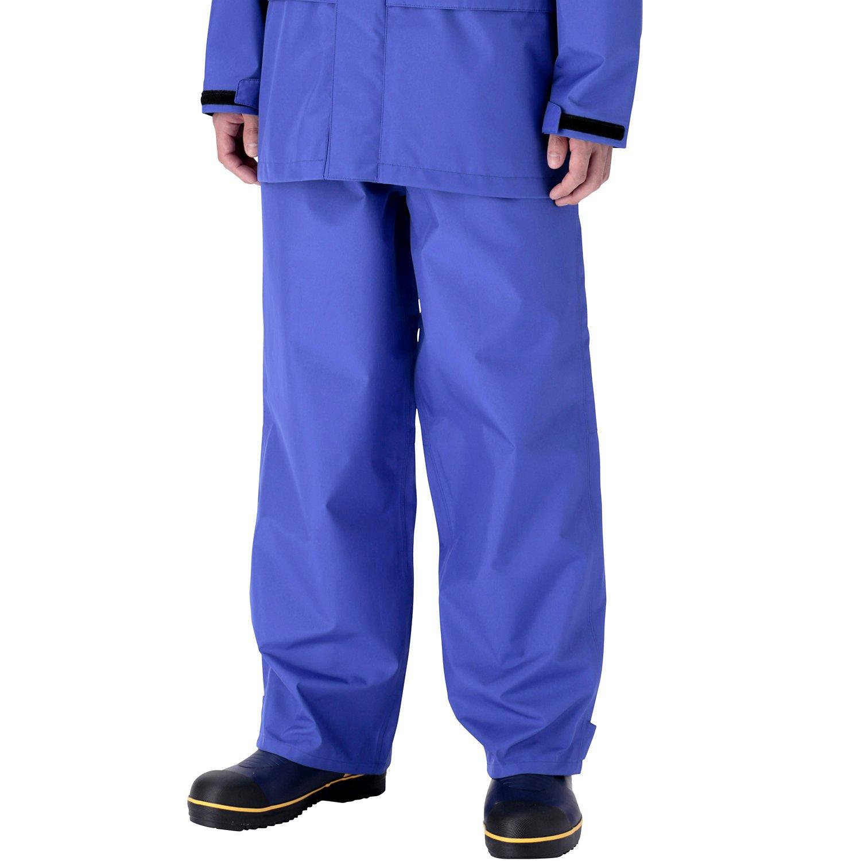 ミドリ安全 雨衣 レインベルデN(R) ゴアテックス(R) 標準仕様 下衣 ロイヤルブルー B01JHIR4TU LL