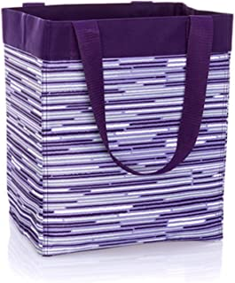 Thirty One Essential Storage Tote in Geo Stripe  sc 1 st  Amazon.com & Amazon.com: Thirty One Essential Storage Tote 4446 Perfect Stripe ...