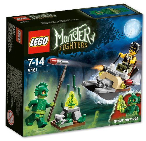 LEGO Monster Fighters The Swamp Creature - Lego Frank Rock