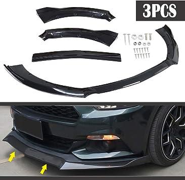 ECCPP Front Bumper Lip Splitter Spoiler Automotive Body Kits spoiler Universal Front Bumper Lip Body Kit Spoiler For Honda Civic BMW Benz Mazda GMC