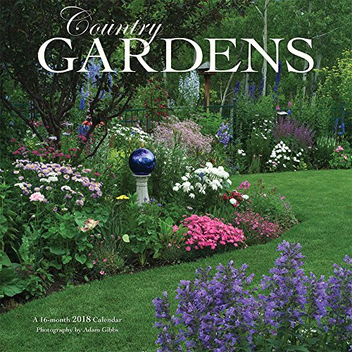 Country Gardens 2018 12 x 12 Inch Monthly Square Wall Calendar by Wyman, Gardening Outdoor Home Nature
