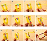 4400Pcs Colorful Rubber Band Refill Kit for Loom