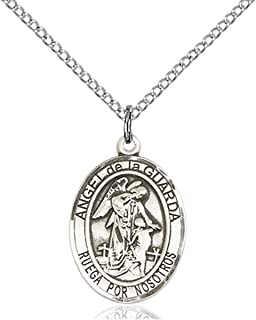 USA Made Chain Choice Heartland Store Mens Pewter Oval Saint Marcellin Champagnat Medal