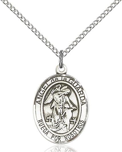 18 Chain Sterling Silver St Raymond Nonnatus Pendant