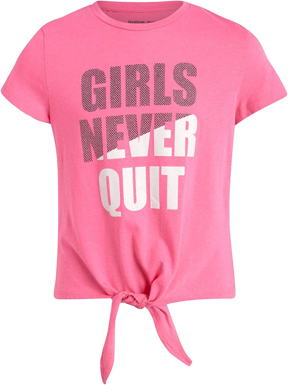 Reebok Girls 3-Piece Shorts and T-Shirt Set
