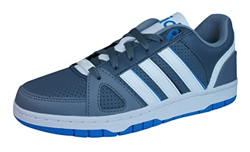 adidas Neo Hoops Team Mens Trainers/Shoes-Grey-6