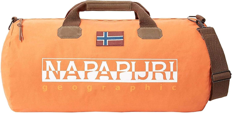 Napapijri One Bering Size Amber Bag Orange Duffle RLAj435