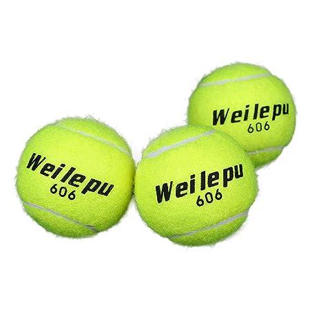 ckground Pelotas de Tenis de Caucho Verde PCS de 3 Clases ...
