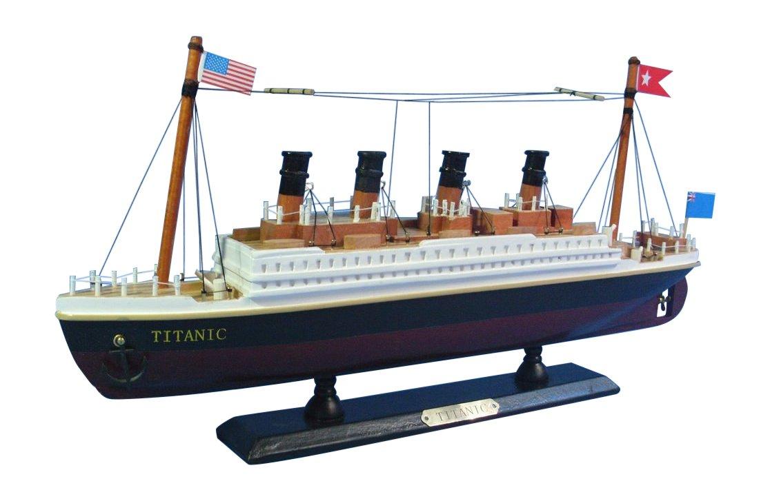 14 14 Handcrafted Model Ships A1705 Hampton Nautical  RMS Titanic Cruise Ship