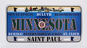 Dimension 9 Home Decorative Plate, Minnesota