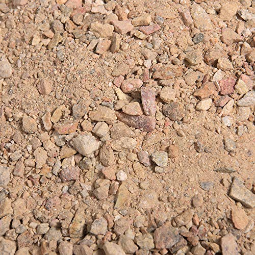 Southwest Boulder & Stone Landscape Decomposed Granite | 20 Pounds | Natural, Crushed Rock Fines Ground Cover for Landscaping, Gardening, Pathways, and More (Palm Springs Gold) ()
