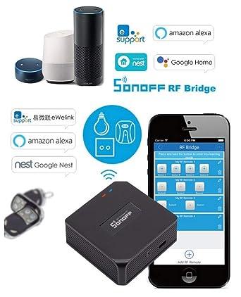BRIDGE RF SONOFF 433 MHz WIFI DOMOTICA DE SMARTPHONE APP/NEST ...