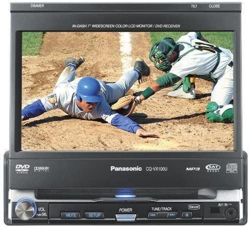 Panasonic Car Audio CQVX100U 7-Inch Ranking TOP8 DVD HUB Bluetooth sold out Receiver