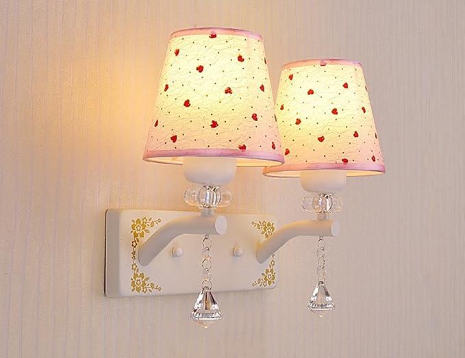 Zhdc lampada da parete del lato del letto led camera moderno