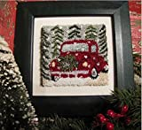 Punch Needle Embroidery HAPPY HOLIDAYS
