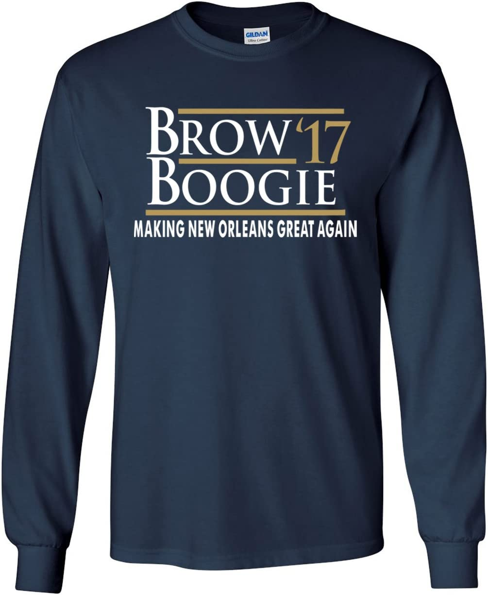 The Silo Long Sleeve Navy New Orleans Brow Boogie 17 T-Shirt