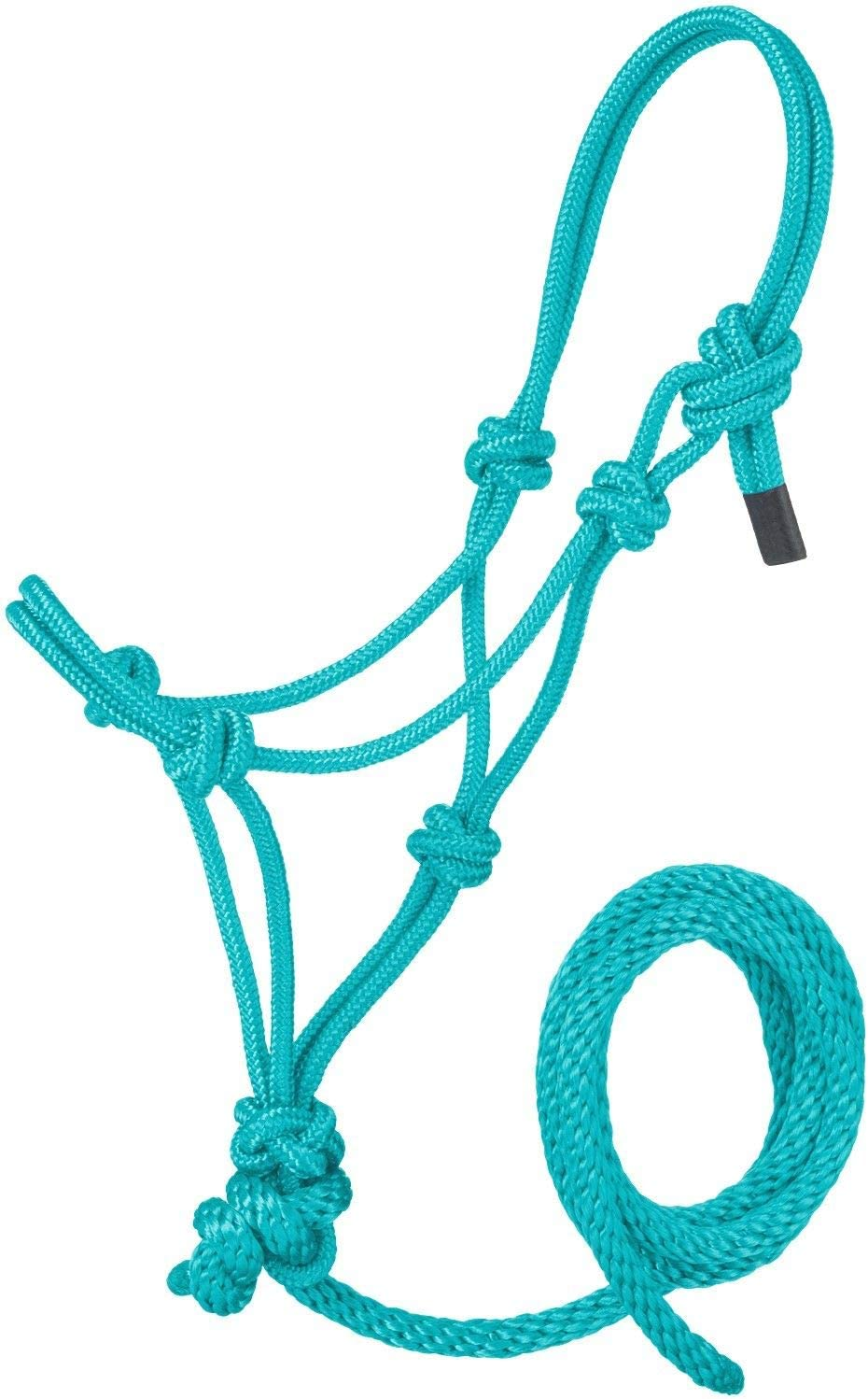 Tough 1 Poly Rope Tied Halter with Lead