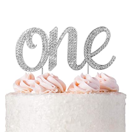 Image Unavailable Not Available For Color 1st First Birthday Cake Topper