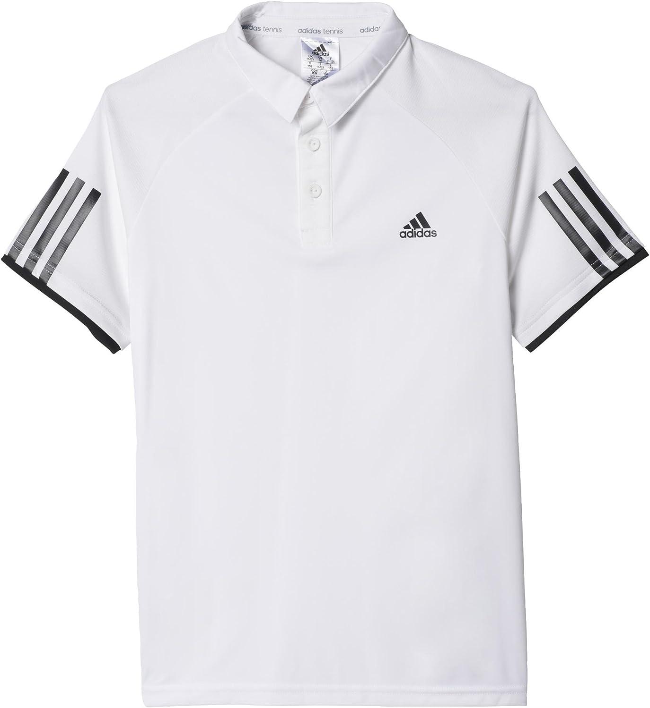 adidas Oberbekleidung Club Polo, Niños, (Blanco/Negro), 140 ...